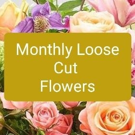 Monthly subscription cut flowers